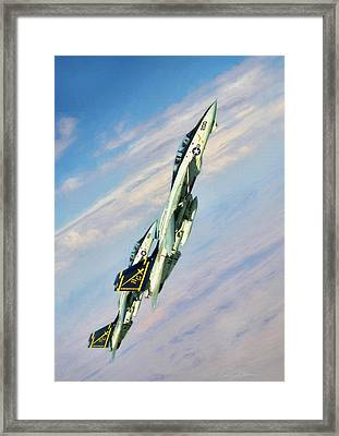 Climbing Cats Framed Print by Peter Chilelli