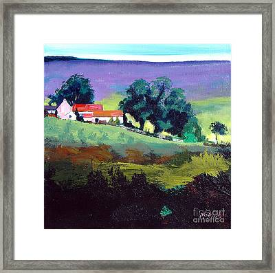 Clitherbeck In The North York Moors Framed Print by Neil McBride