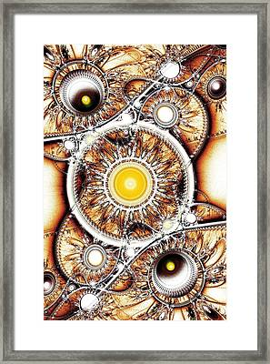 Clockwork Framed Print by Anastasiya Malakhova