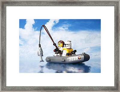 Clone Trooper Fishing Trip Framed Print by Samuel Whitton
