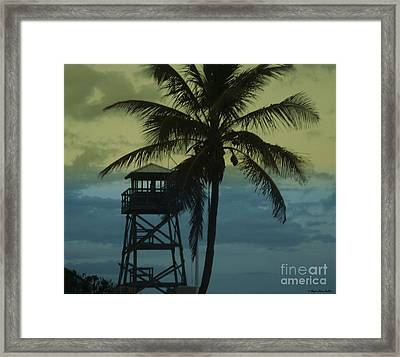 Close To Paradise No2 Framed Print by Megan Dirsa-DuBois