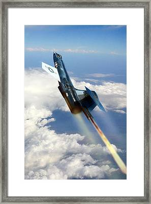 Close To The Edge Nf-104 Framed Print by Peter Chilelli