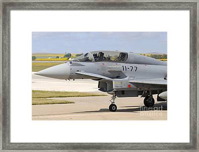 Close-up On The Nose Cone Framed Print by Riccardo Niccoli