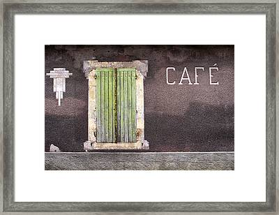 Closed For Business  Framed Print by Georgia Fowler