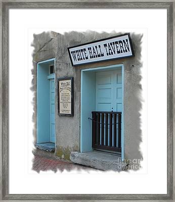 Closed On Mondays  Framed Print by Bob Sample