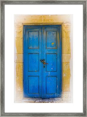 Closed  Framed Print by Patricia Hofmeester