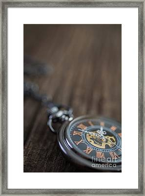 Time Is The Coin Of Your Life Framed Print by Edward Fielding