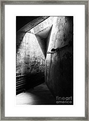 Closing In Framed Print by John Rizzuto