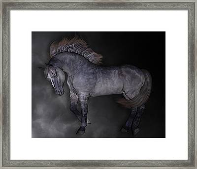 Cloud Framed Print by Betsy Knapp