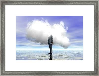 Cloud Computing Framed Print by Carol & Mike Werner