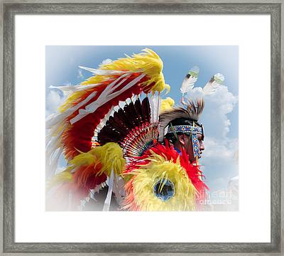 Cloud Dancer Framed Print by Robert Frederick