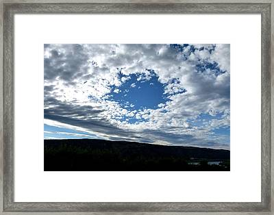 Cloud Nine 16 Framed Print by Will Borden