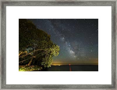 Cloud Of Stars Framed Print by Matt Molloy