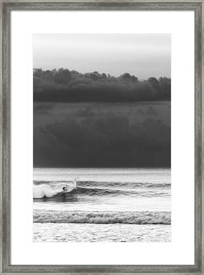 Cloud Surfer Framed Print by Ocean Photos