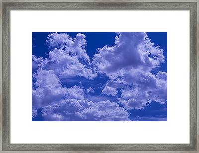 Cloud Watching Framed Print by Garry Gay