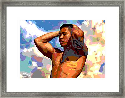 Clouds 2 Framed Print by Douglas Simonson