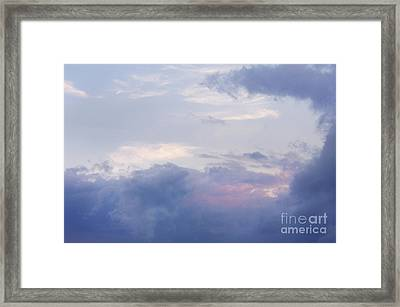 Clouds Framed Print by Jonathan Welch