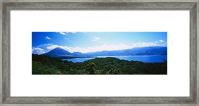 Clouds Over A Volcano, Arenal Volcano Framed Print by Panoramic Images
