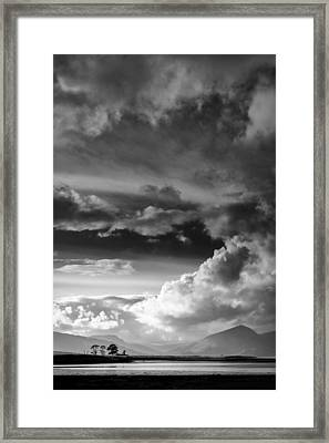 Clouds Over Loch Laich Framed Print by Dave Bowman