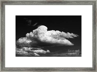Clouds Over The Palouse Framed Print by Ron Roberts