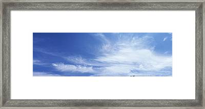 Clouds Phoenix Az Usa Framed Print by Panoramic Images