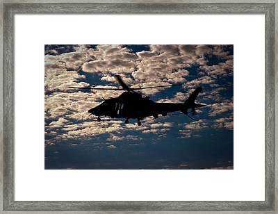 Cloudy Day Framed Print by Paul Job