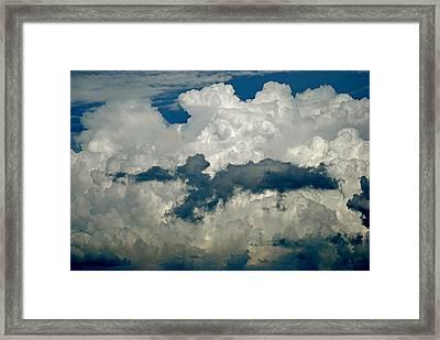 Cloudy Enterprise Framed Print by Marc Levine