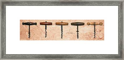 Clough Corkscrews Painting  Framed Print by Jon Neidert