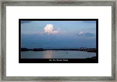 Clover Cary Bridge 2 Framed Print by David Lester