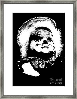 Clowning Around Framed Print by Linsey Williams