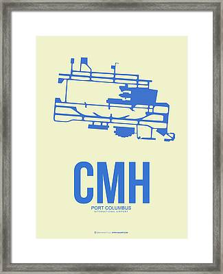 Cmh Columbus Airport Poster 2 Framed Print by Naxart Studio