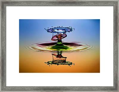 Cmyk Framed Print by Muhammad Berkati