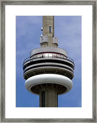 Cn Tower Framed Print by Victor Habbick Visions