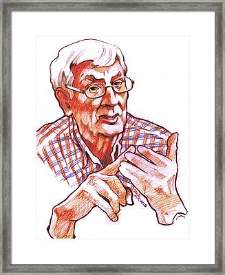 Coach Framed Print by Dale Michels