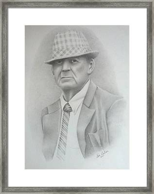 Coach Framed Print by Don Cartier