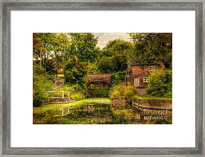 Coalport Canal Framed Print by Adrian Evans