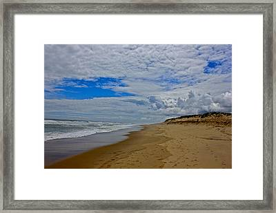 Coast Guard Beach Framed Print by Amazing Jules