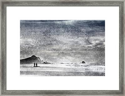 Coast Walk Framed Print by Carol Leigh