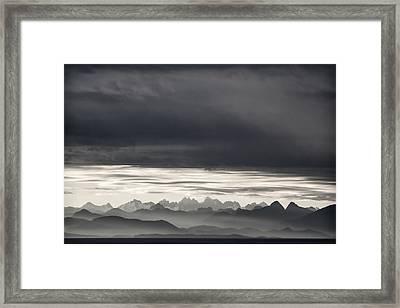 Coastal British Columbia Framed Print by Carol Leigh