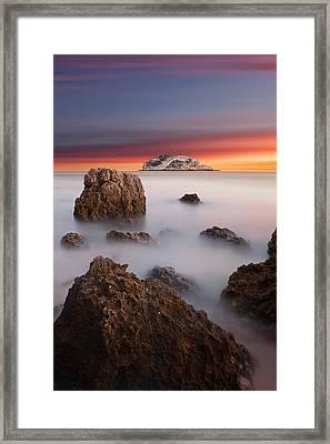 Coastal Glory Framed Print by Jorge Maia