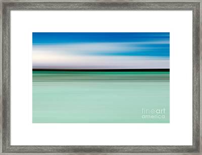 Coastal Horizon 5 Framed Print by Delphimages Photo Creations