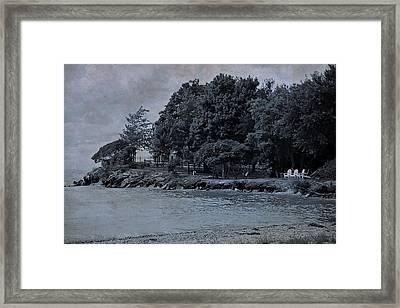 Coastal Living On Lake Erie Framed Print by Dan Sproul