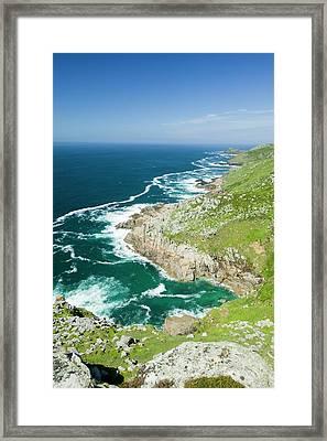 Coastal Scenery Near Zennor Framed Print by Ashley Cooper
