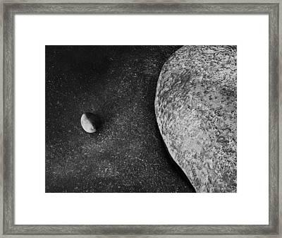 Coastal Zen Framed Print by Joseph Smith