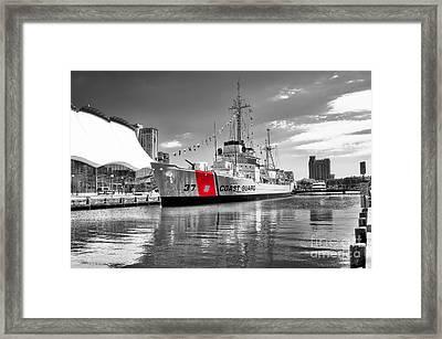 Coastguard Cutter Framed Print by Scott Hansen