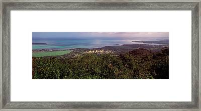 Coastline, Mauritius Island, Mauritius Framed Print by Panoramic Images