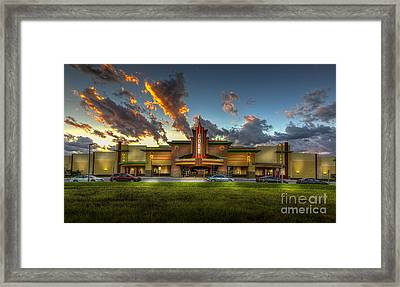 Cobb Theater Framed Print by Marvin Spates