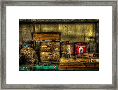 Cobblers Tobacco Framed Print by David Morefield