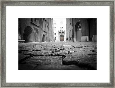 Cobbles Framed Print by John Horrocks