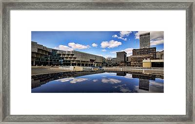 Cobo Hall Detroit Michigan Framed Print by Gordon Dean II
